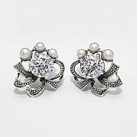 Серебряные серьги 1170055