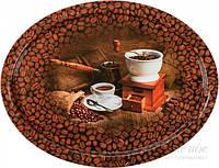 Поднос Кофейные зерна 28x37x2 см PD004 Gala
