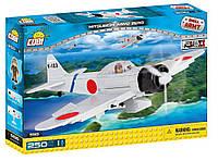 Конструктор Самолет Мицубиси А6М2 Зеро COBI Вторая Мировая Война (COBI-5515)