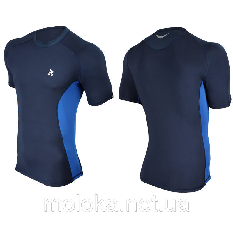 Спортивная футболка Radical Fury Duo компрессионная темно-синяя