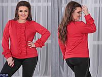 Нарядная блуза  (размеры 48-54) 0074-06
