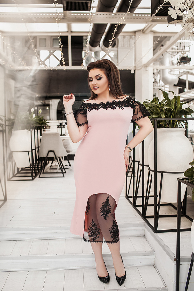 Коктейльное платье 03728