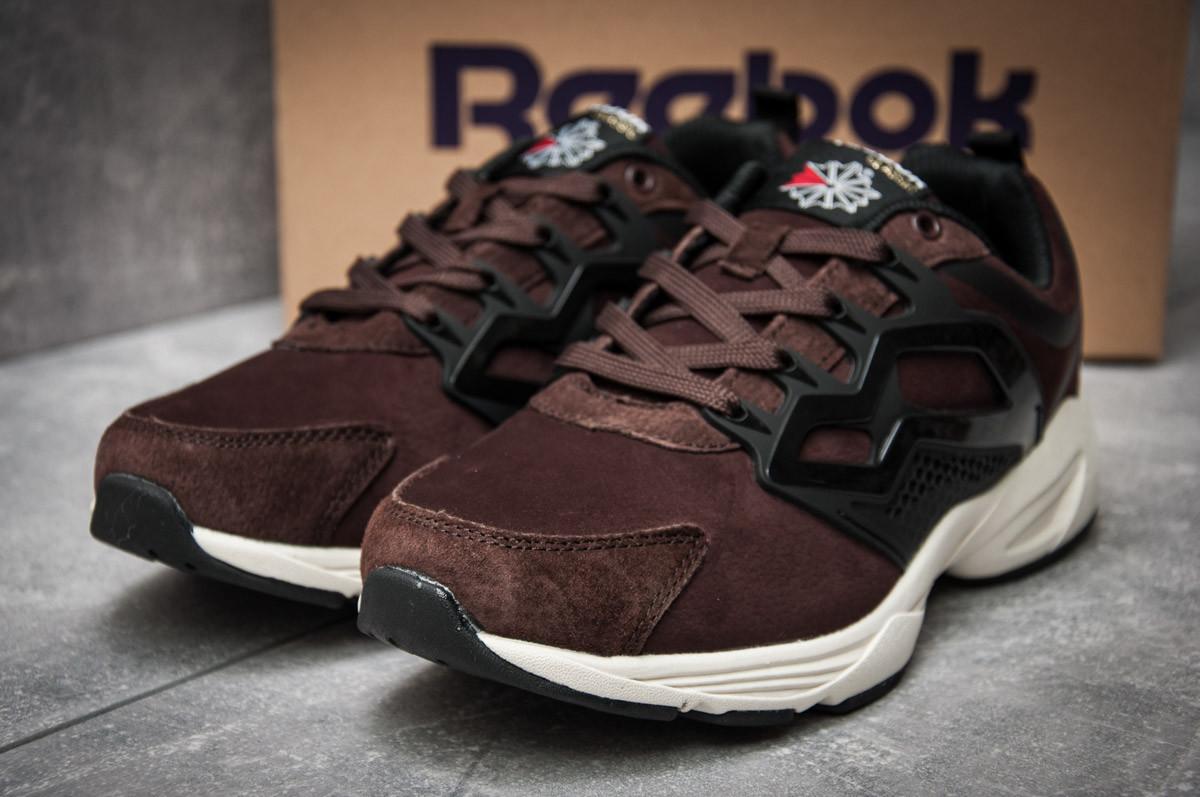 Кроссовки мужские Reebok  Fury Adapt, коричневые (12132) размеры в наличии ► [  42 (последняя пара)  ](реплика)