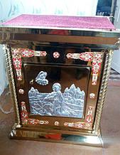 Жертвенник православный с вставками декора 65х95см