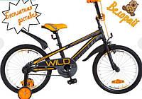Детский велосипед для мальчика 18 дюймов от 5 до 9 лет Formula Wild 2018i, фото 1
