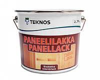 Лак акриловый TEKNOS PANEELILAKKA панельный (полуматовый) 2,7 л