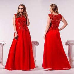 Роскошное женское платье на праздник 48 50 52