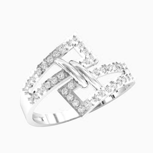 Кольцо  женское серебряное Модница KE-1387