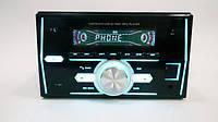 "2 DIN автомагнитола Pioneer 1201 Bluetooth+7""+SD+AUX+Пульт Д/У+RGB подсветка"