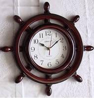 Часы в виде штурвала настенные дом/офис Sirius SI-008