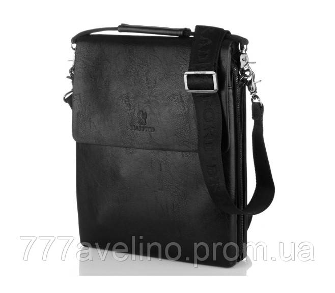 Мужская сумка через плечо bradford 18770 -1 черная
