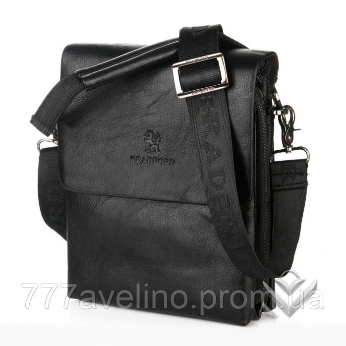 0dc5a0146085 Мужская сумка через плечо bradford 18770 -5 черная - Интернет магазин Модный  Стиль в Харькове