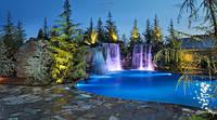 Эксклюзивный Водопад в Бассейн из Камня