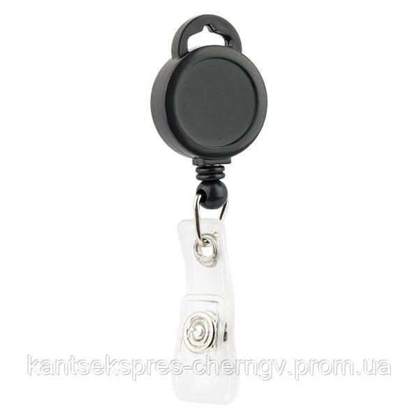 Клип-рулетка для бейджа Axent 4519-A в ассорт.
