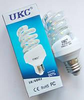 Лампочка спиральная UKC LED LAMP E27 24W, светодиодная энергосберегающая лампочка