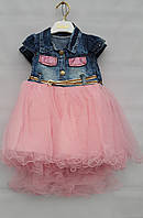 Детское джинсовое платье на девочек 2-3-4-5 лет Flaviano