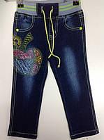 Гламурные джинсы  для девочки