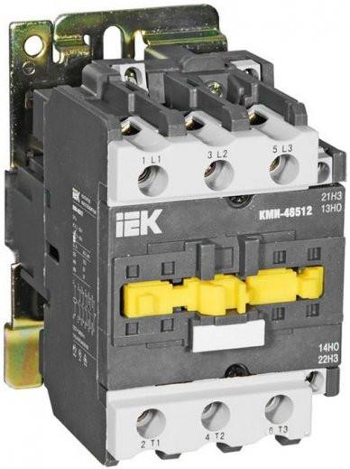 Контактор КМІ-49512 95А / АС3 1з + 1р (А + НЗ) ІЕК