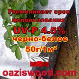 Агроволокно p-50g 3.2*50м чорно-біле UV-P 4.5% Premium-Agro Польща, фото 5