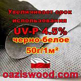 Агроволокно p-50g 1.07*100м чорно-біле UV-P 4.5% Premium-Agro Польща, фото 6
