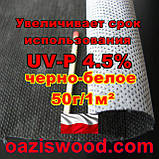 Агроволокно p-50g 1.07*100м чорно-біле UV-P 4.5% Premium-Agro Польща, фото 7