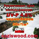 Агроволокно p-50g 1.07*100м чорно-біле UV-P 4.5% Premium-Agro Польща, фото 9