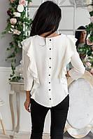 Блуза женская с воланами , фото 1