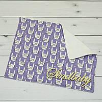 Непромокаемая пеленка для новорожденных 40х50 -04