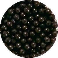 Шарики перламутровые чёрный d 5 мм.10г/уп, фото 1
