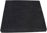 Резиновая плитка (зернистая, черная) 30 мм