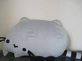 Мягкая игрушка-подушка Кот Пушин (ленивый) Pusheen - the cat 70 см ручная работа