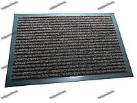 Ковер грязезащитный Рубчик темно-коричневый 40х60см