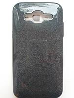 Силиконовая накладка Gliter для Samsung J510 (Black)