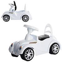 Машинка для катания РЕТРО белая ОРИОН 900 (680x280x270 мм)
