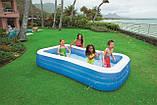 Детский надувной прямоугольный бассейн Intex 58484 183х305х56 см, фото 2
