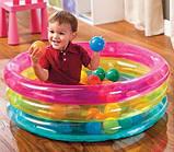 Бассейн 48674 детский с шариками в комплекте (50 шт), размером (86 х 25 см), фото 4