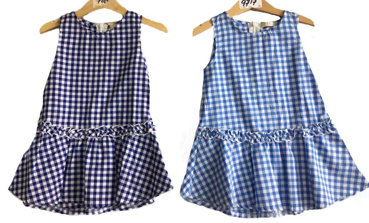 Платье летнее для девочек опт, размеры 1-5 лет, арт. 9717