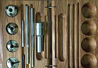 Набор зенкеров раздвижных для сёдел клапанов 32.4-3 ШАР3243
