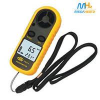 Анемометр - цифровой измеритель скорости ветра GM816 / измерение силы ветра