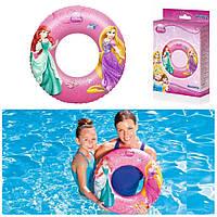 Детский надувной круг для плавания «Disney Princess» | «Bestway»