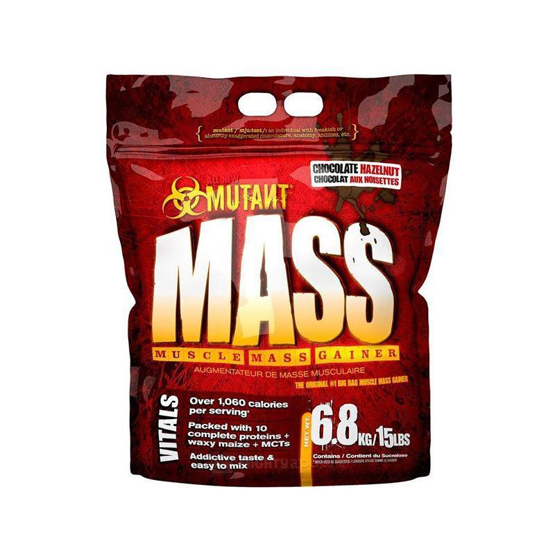 Гейнер для набора массы Mutant Mass (6,8 кг) мутант масс chocolate hazelnut