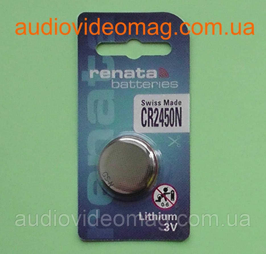 Батарейка литиевая Renata CR 2450 N Lithium 3V