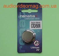 Батарейка литиевая Renata CR 2450 N Lithium 3V , фото 1