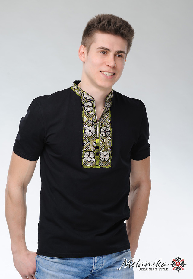"""Унікальна модель чоловічої вишитої футболки """"Сонечко"""" має безліч переваг 947d02876d851"""