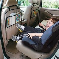 2шт Защитный чехол органайзер на спинку сиденья в авто с карманами / органайзер для авто