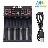 Зарядное устройство для аккумуляторов Liitokala Lii-402 18650 АА/ААА от USB универсальное