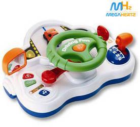Автотренажер руль звук музыка передачи Keenway 13701 / игровой руль для мальчика