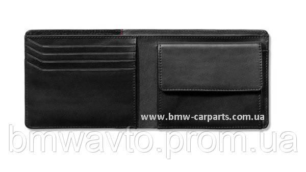 Чоловічий шкіряний гаманець Audi Sport men's Mini Wallet Leather, фото 2
