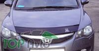 Vip Tuning Дефлектор капота Honda Civic 4D 2005-2012