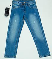 Стильные джинсы  для девочки  (2-6 лет), фото 1